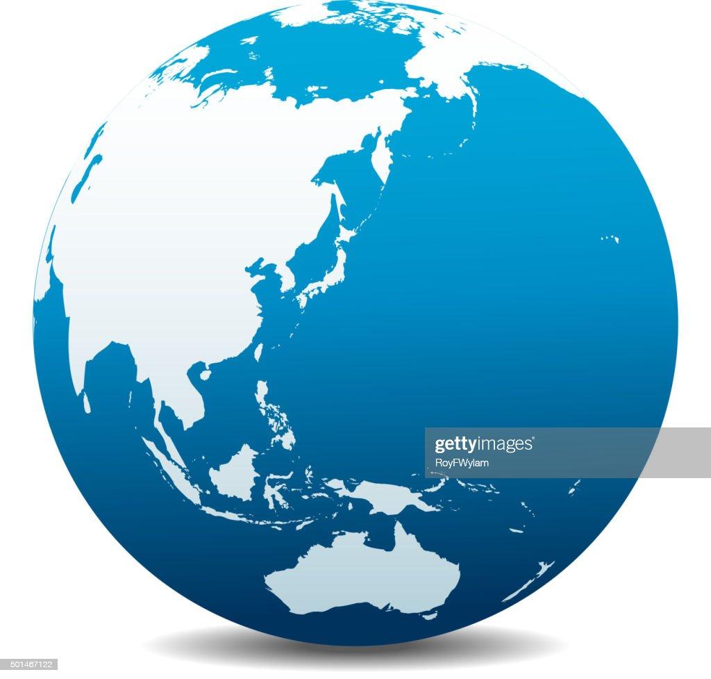 China, Japan, Malaysia, Thailand, Indonesia, Australia, Global World