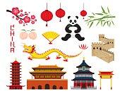 China Objects Set