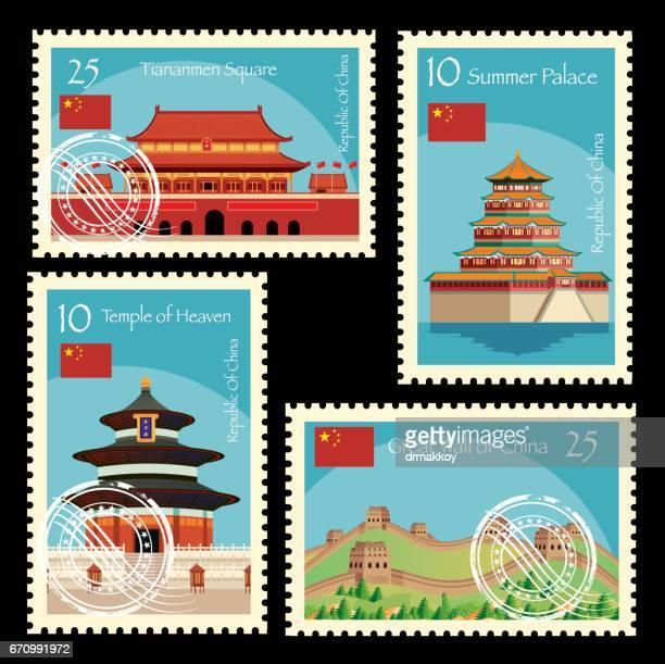 ilustraciones, imágenes clip art, dibujos animados e iconos de stock de china de envío - granmurallachina