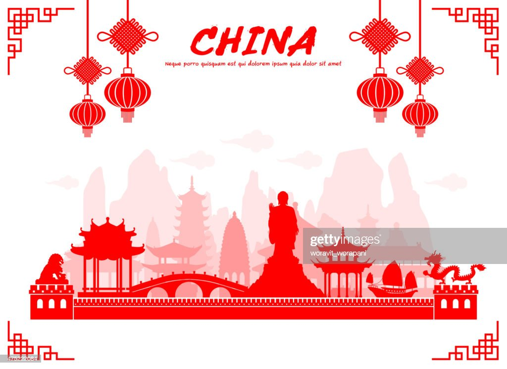 China Travel Landmarks.