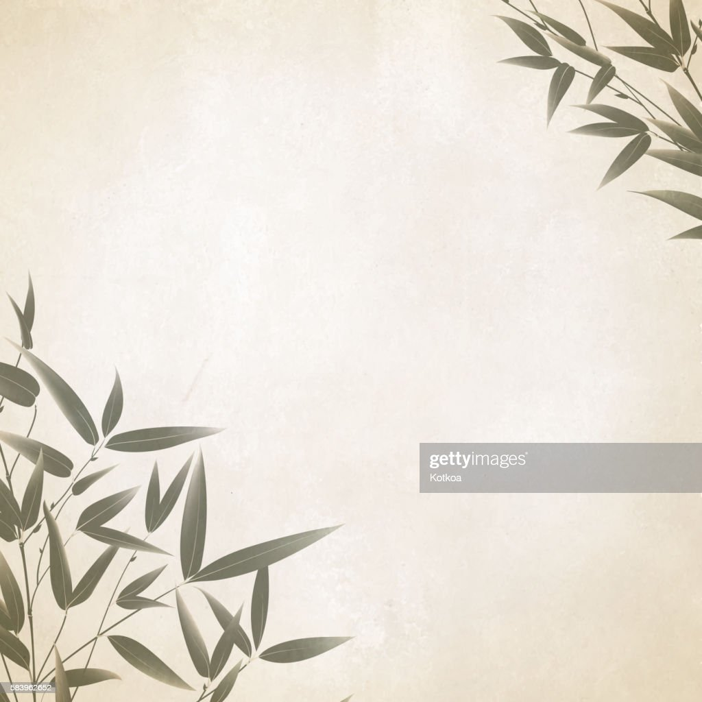 Chinese bamboo design.