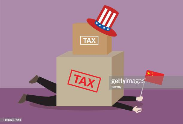 A Chinese businessman has a tax burden from the USA