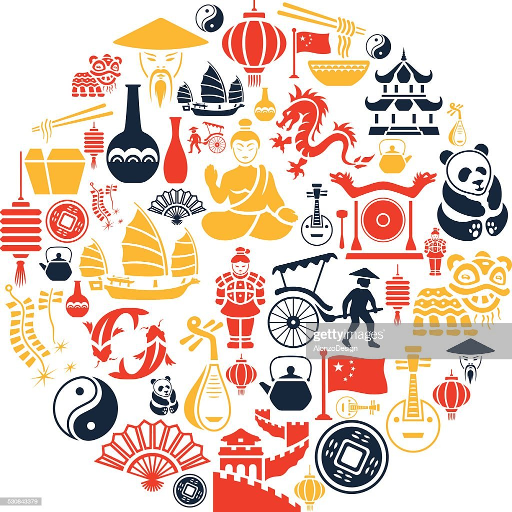 Chinese Collage