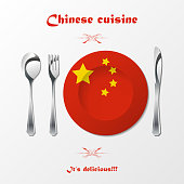 Chinese cuisine cutlery