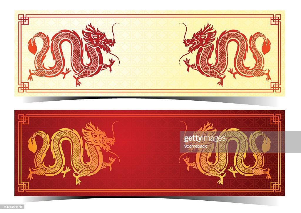 chinese dragon template vector art getty images