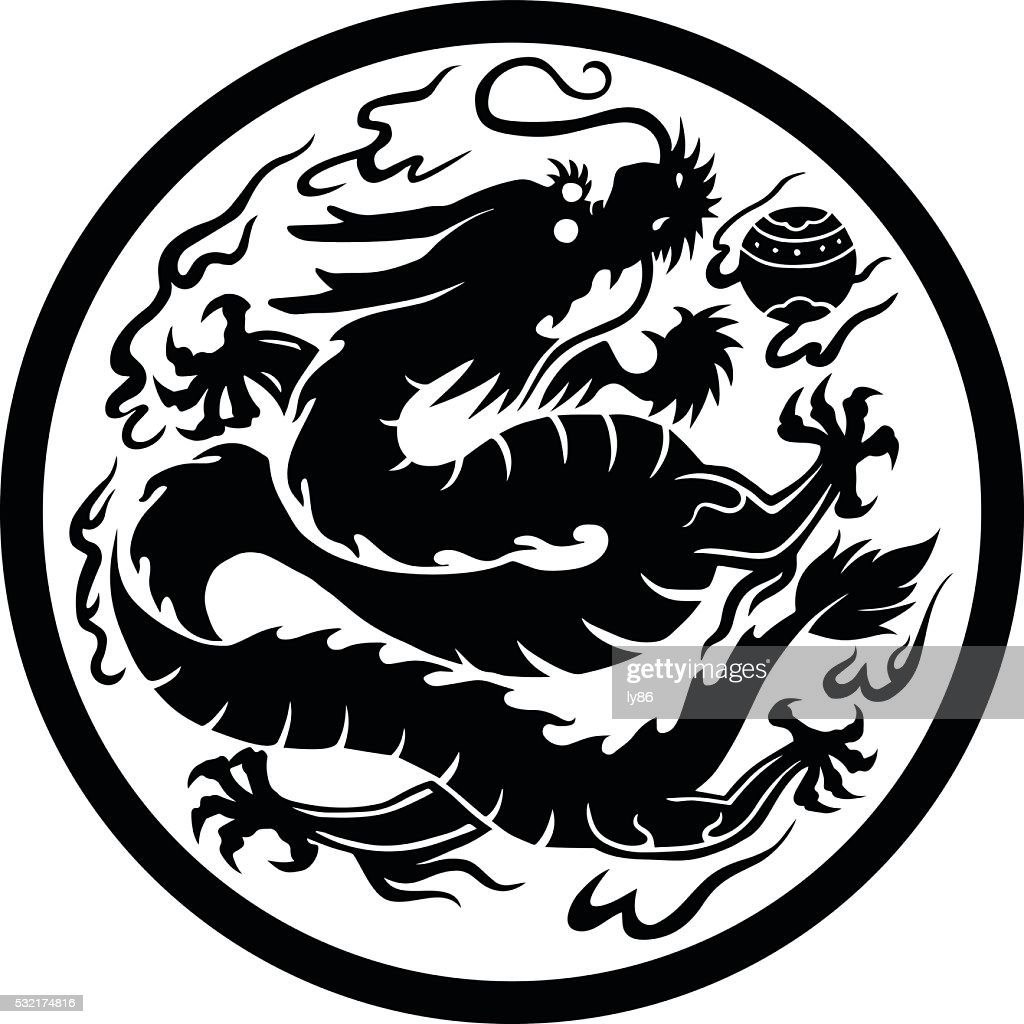 Chinese dragon vector art getty images chinese dragon vector art biocorpaavc