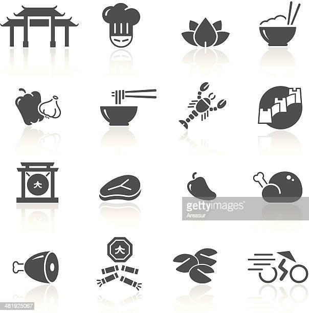 chinese food & restaurant 1/2 - chopsticks stock illustrations, clip art, cartoons, & icons