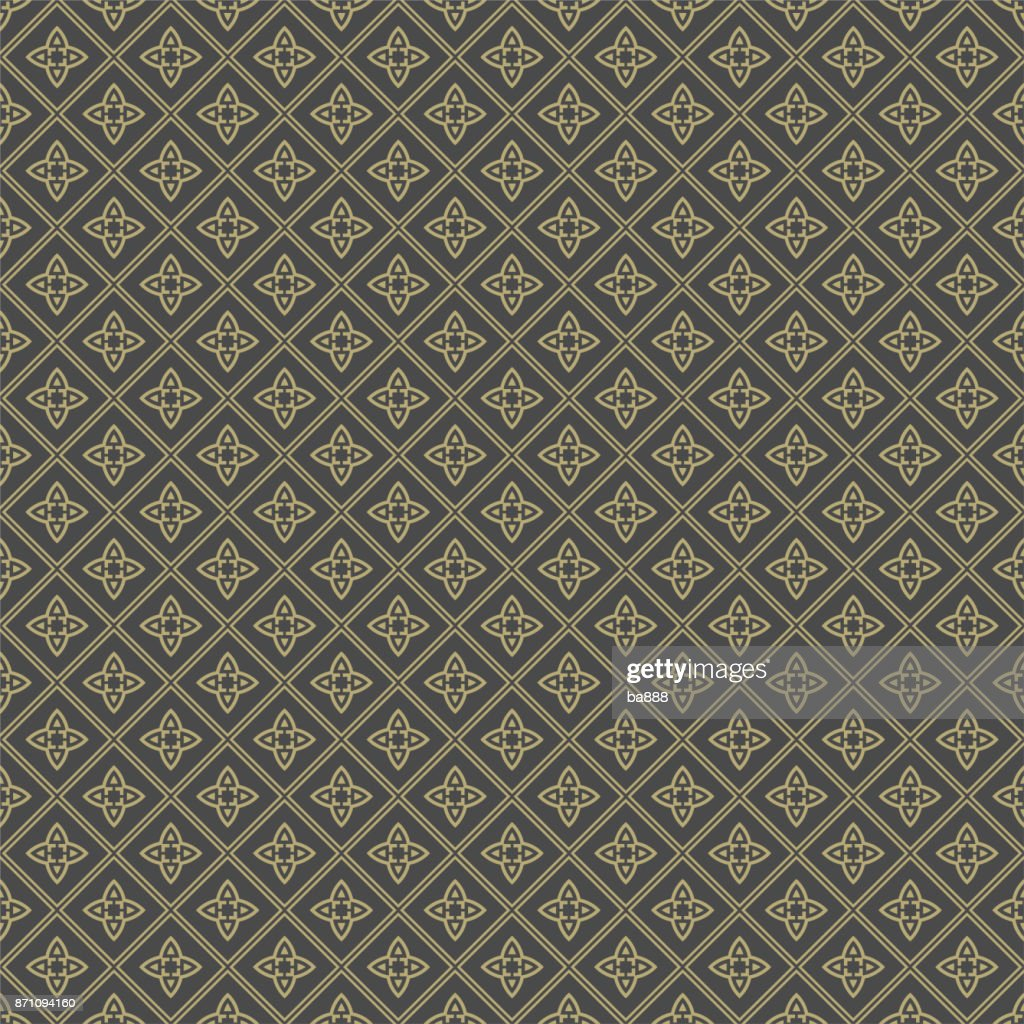 Chinese geometric background