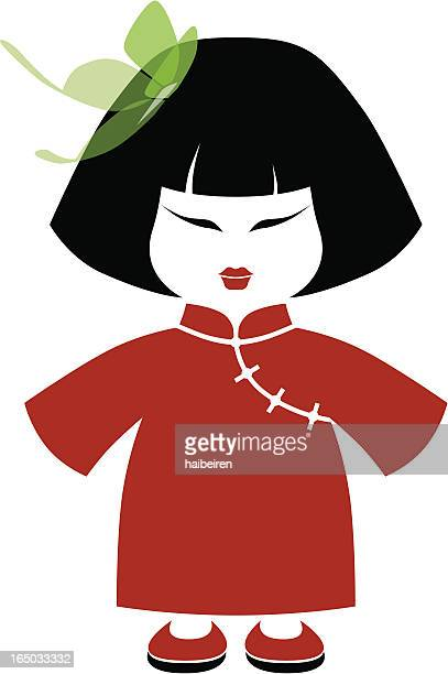 19 中国 人形 Stock Illustrations Clip Art Cartoons Icons Getty