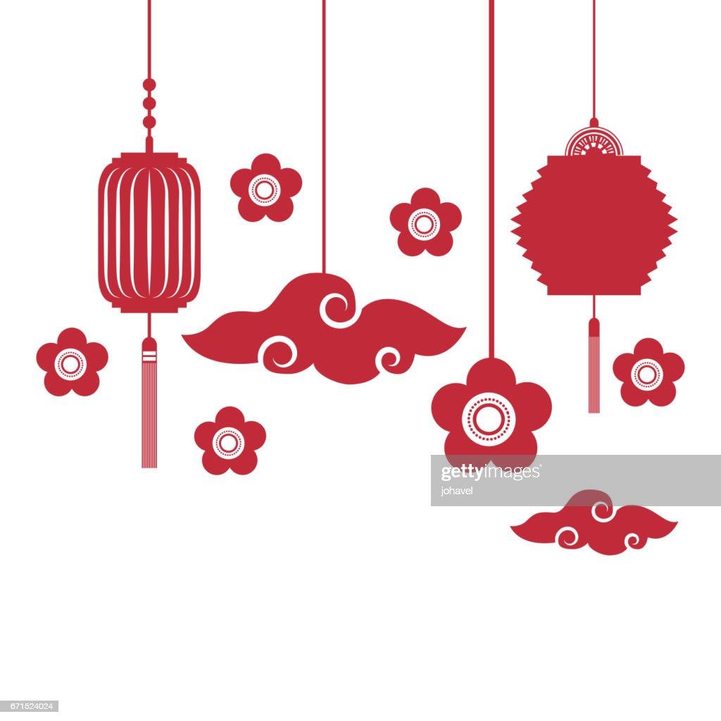 chinese lanterns decorations