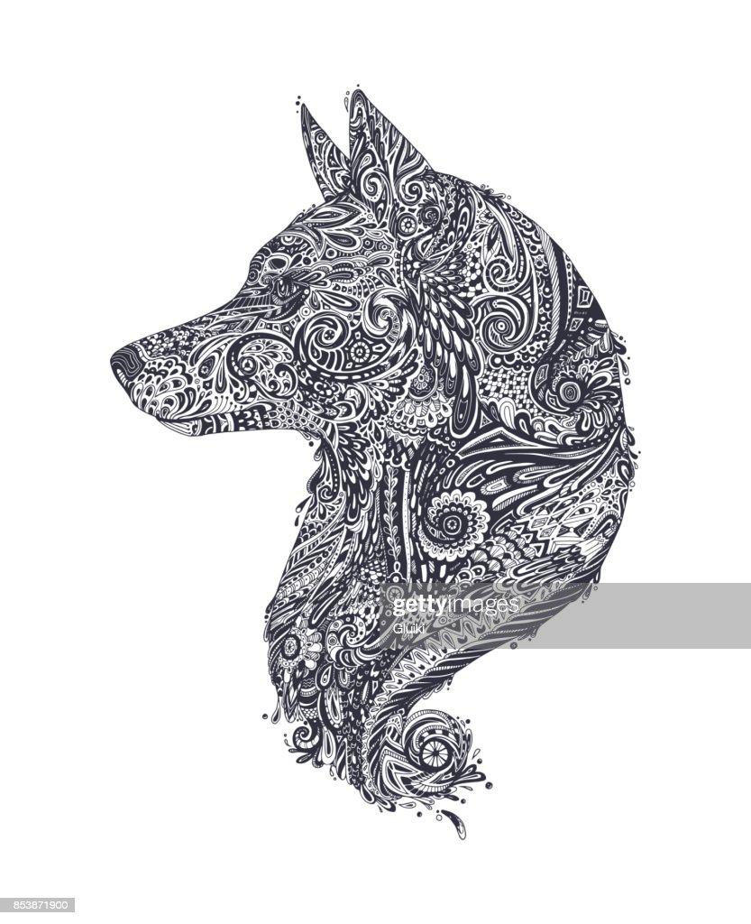 Chinese New Year 2018. Zodiac Dog.