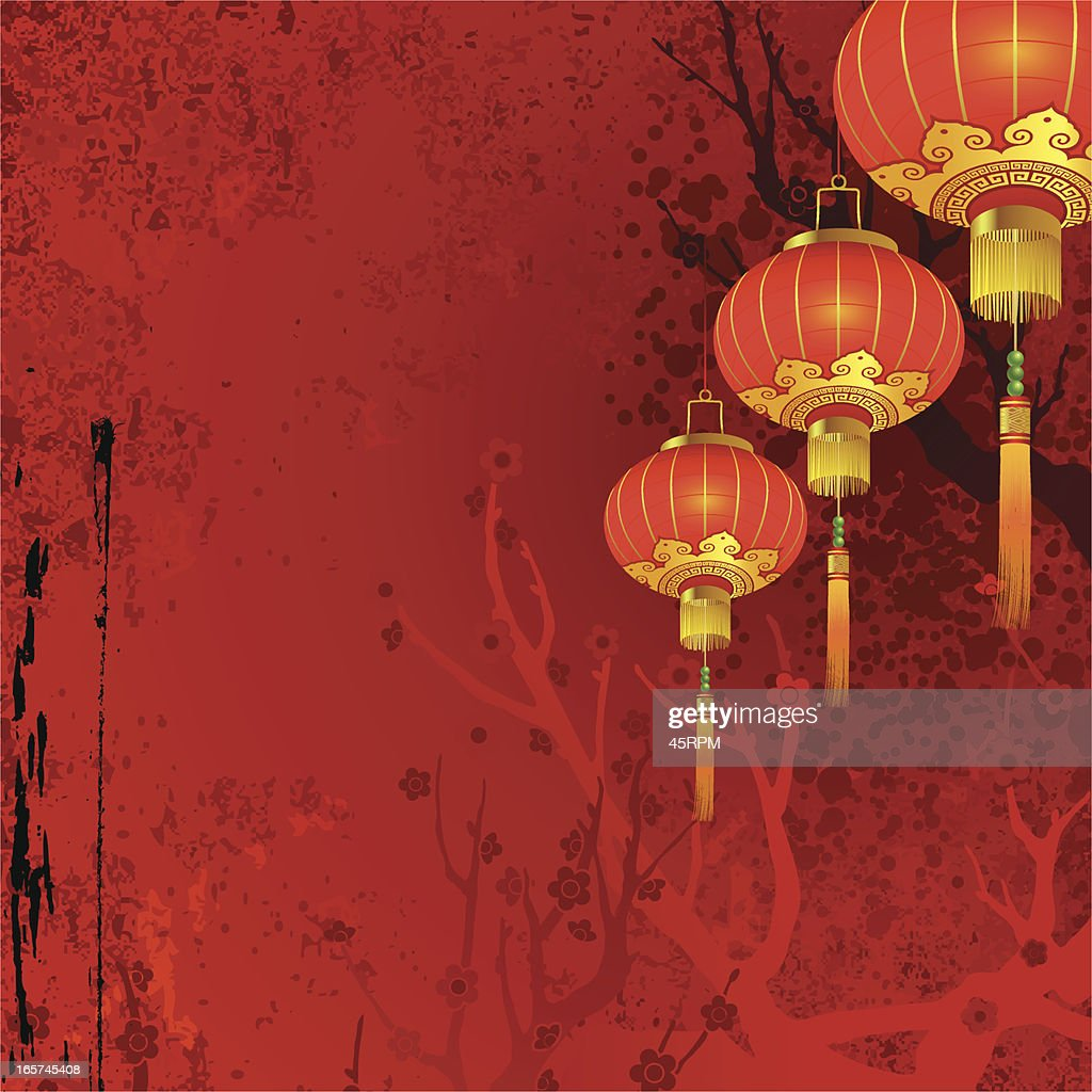 Chinese New Year Abstract