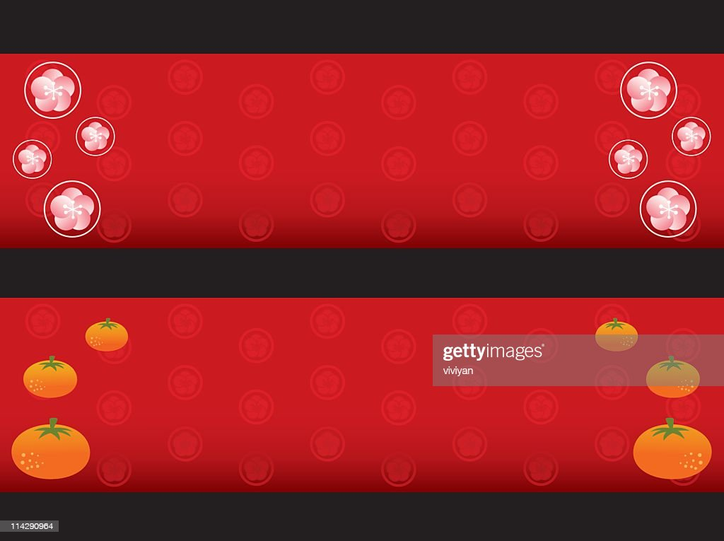 chinese new year banner vector art