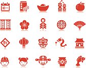 Chinese New Year icons | Pictoria series