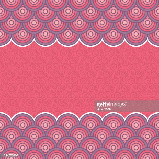 Chinese Oriental traditional seamless pattern background