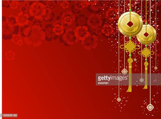 Chinese Ornaments Background