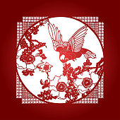 Chinese Paper Cuttings Background
