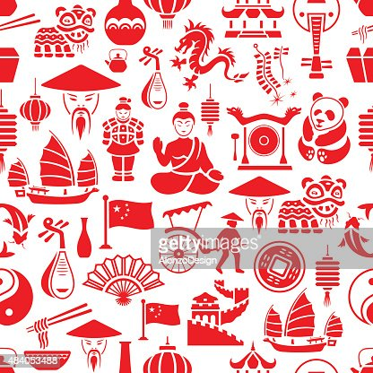 Chinese Pattern Vector Art