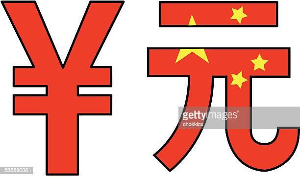 chinese yuan money symbol