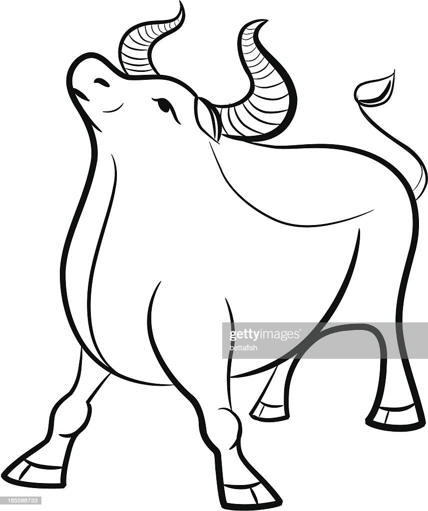 Chinese Zodiac Ox Stock Illustration - Getty Images