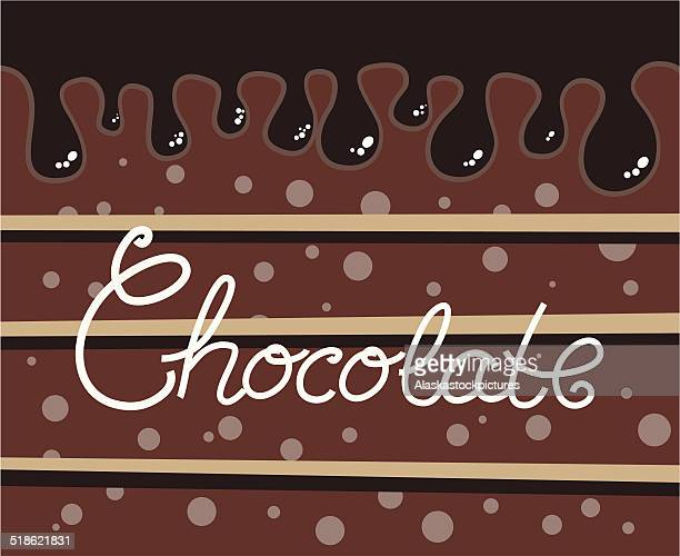 chocolate bg - molten stock illustrations, clip art, cartoons, & icons