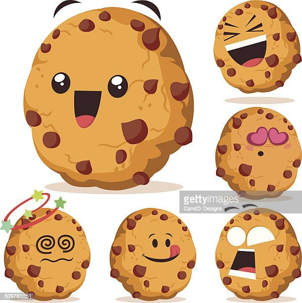 Chocolate Chip Cookie Stock Illustrations And Cartoons ...