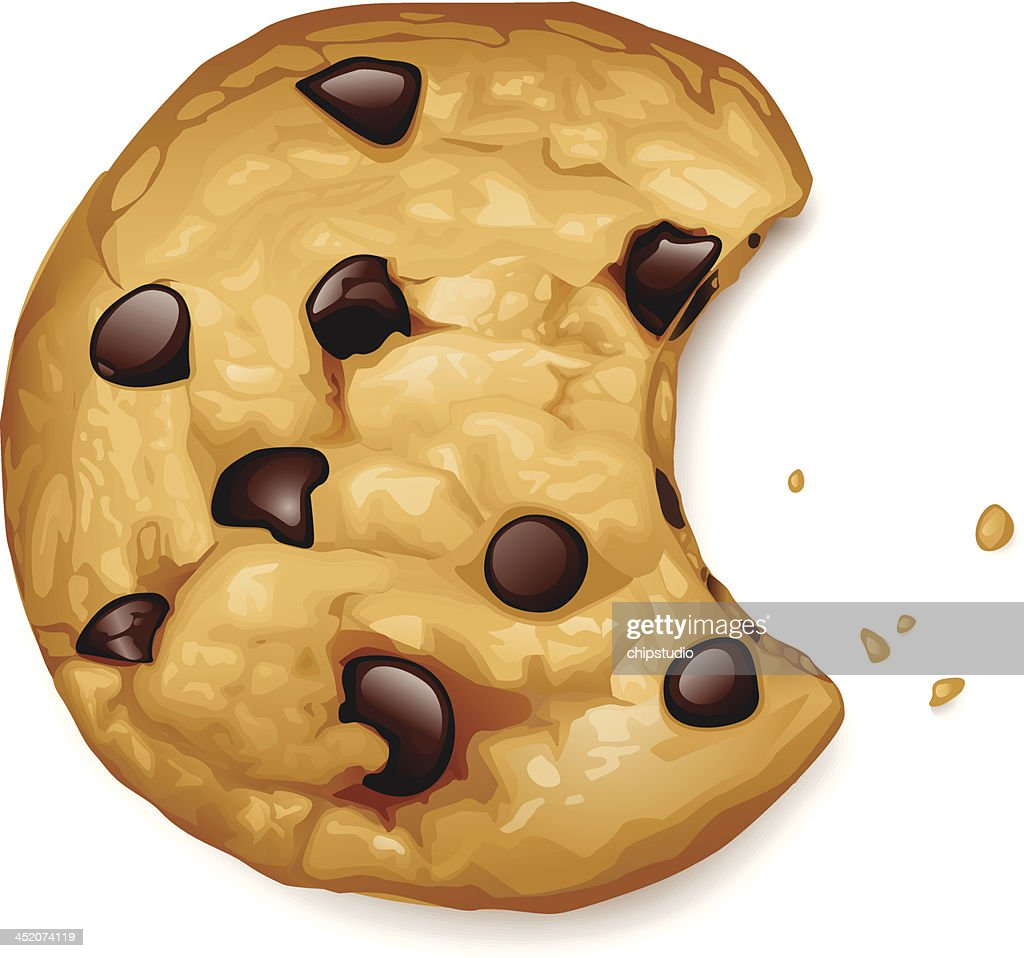 free chocolate chip cookie clipart and vector graphics clipart me rh clipart me chocolate chip cookies cartoon chocolate chip cookies clipart free