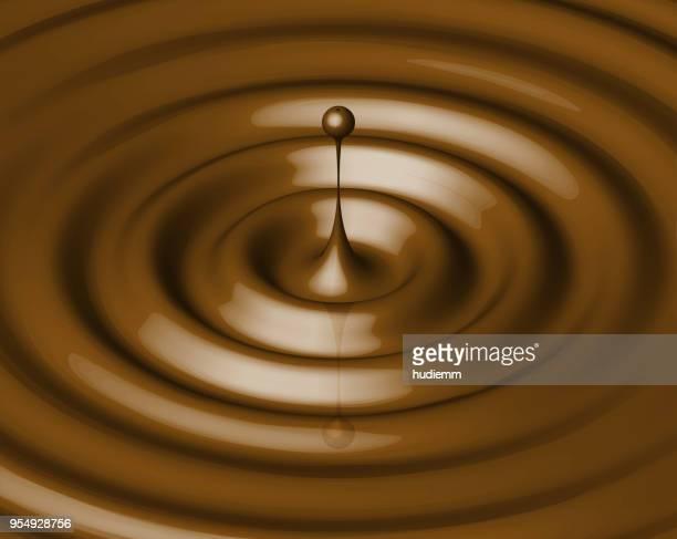 chocolate liquid drops background - chocolate stock illustrations, clip art, cartoons, & icons