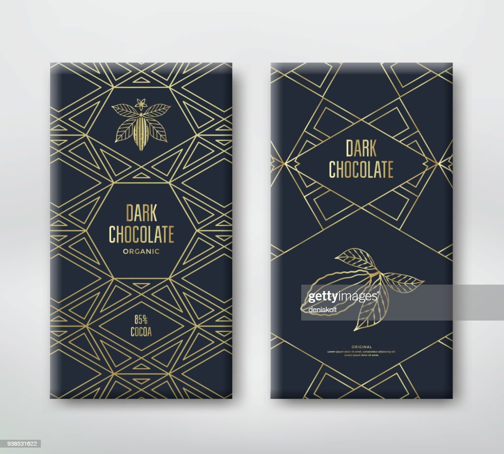 Chocolate or cocoa packaging