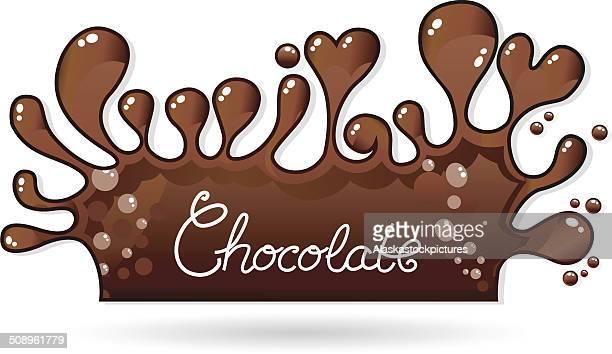 chocolate - molten stock illustrations, clip art, cartoons, & icons