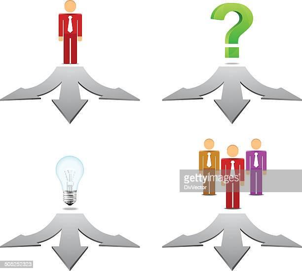 Choice arrow