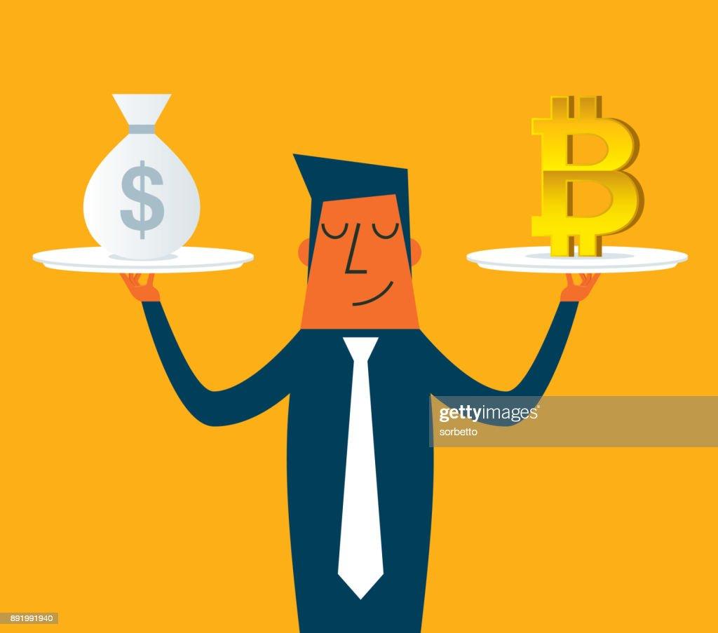 Choice - Businessman : Stock Illustration