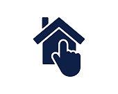 choice home glyph icon