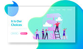 choice way website landing page business