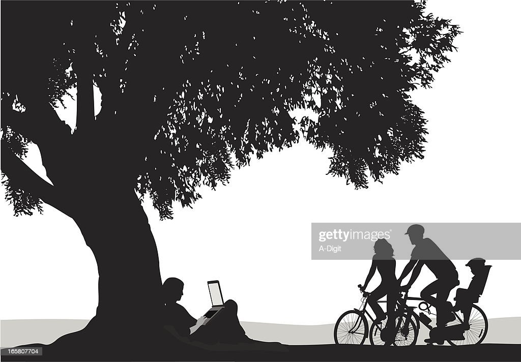 Choices Vector Silhouette : stock illustration