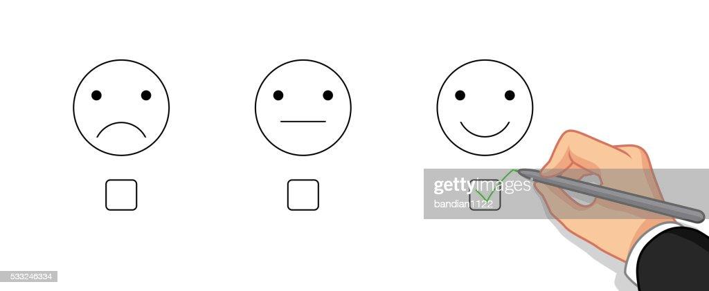 choose emotion happy