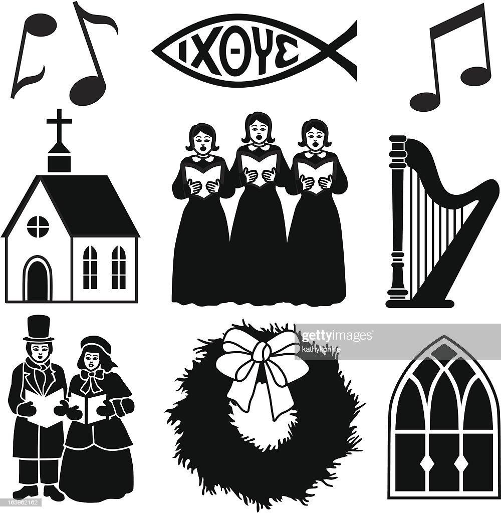 Christian Christmas icons