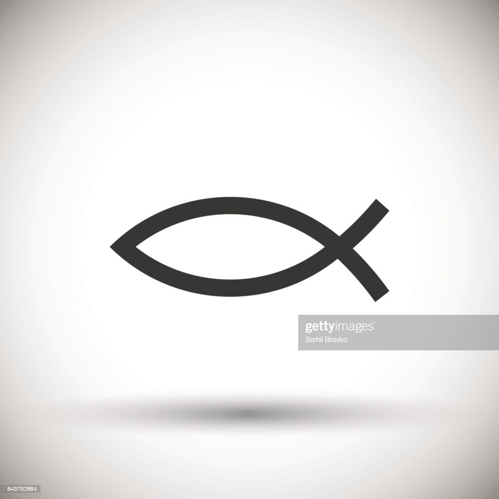 Christian Fish Symbol icon