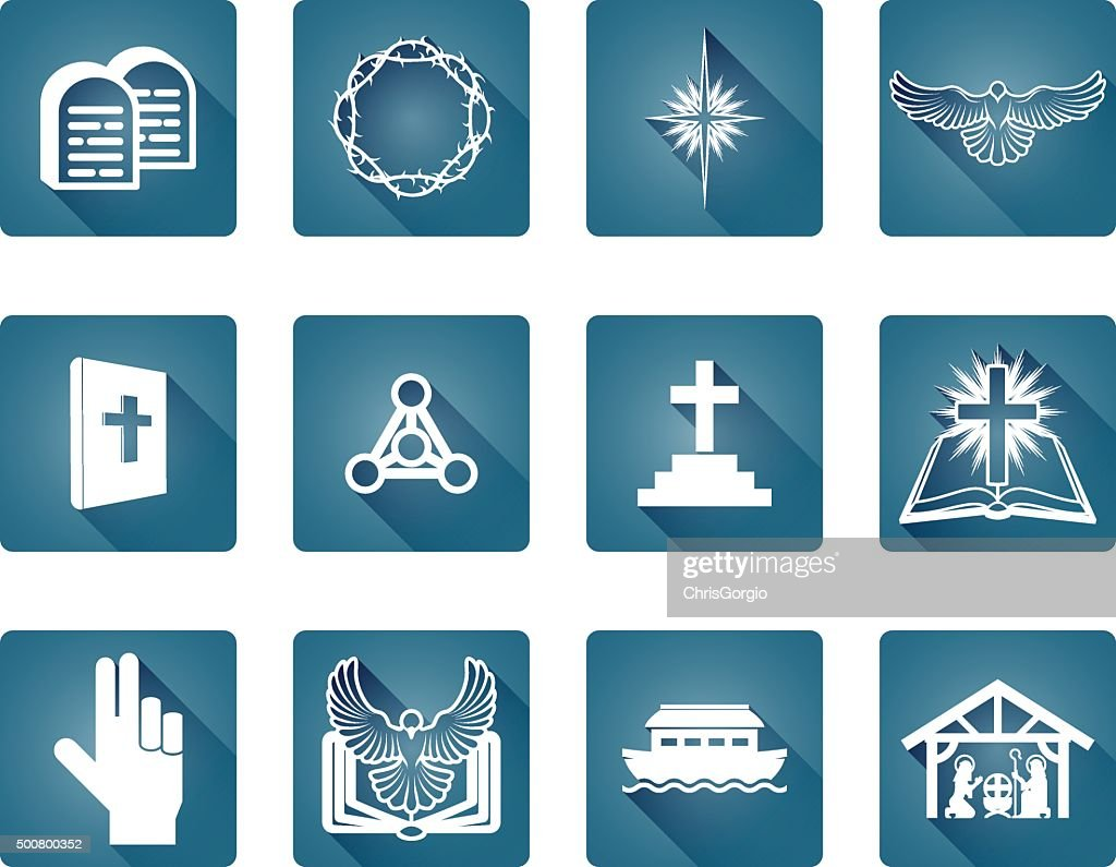Christian Icon Set