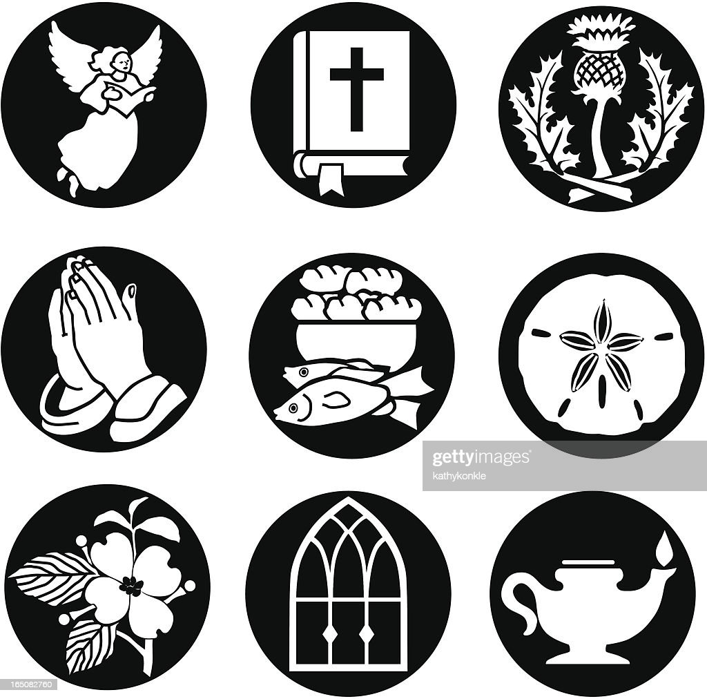 Christian icons reversed
