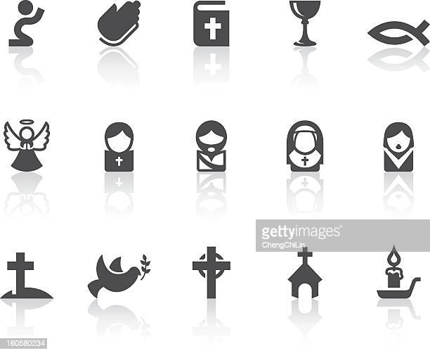 Christian Icons | Simple Black Series