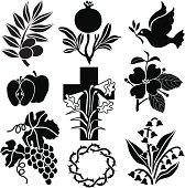 Christian symbols from Nature