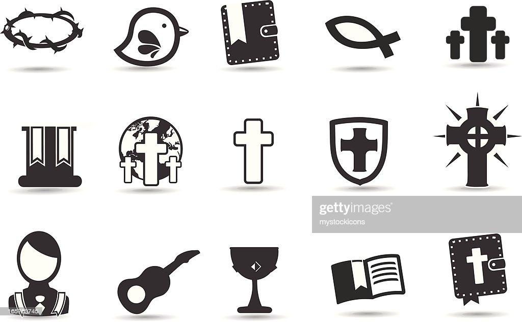 Christian Symbols Vector Art Getty Images