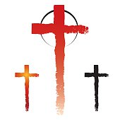Christianity cross symbols