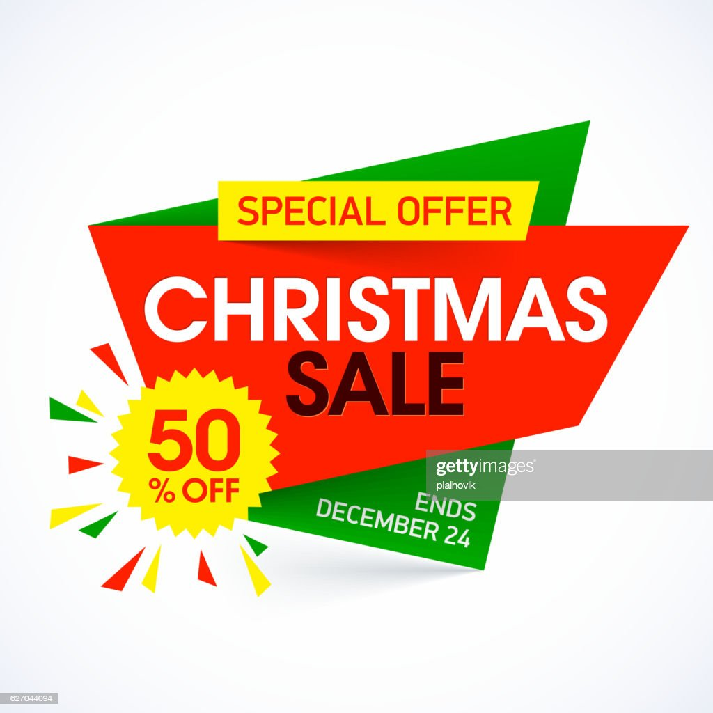 Christma Sale banner