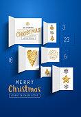Christmas Advent Calendar Doors