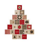 Christmas advent calendar