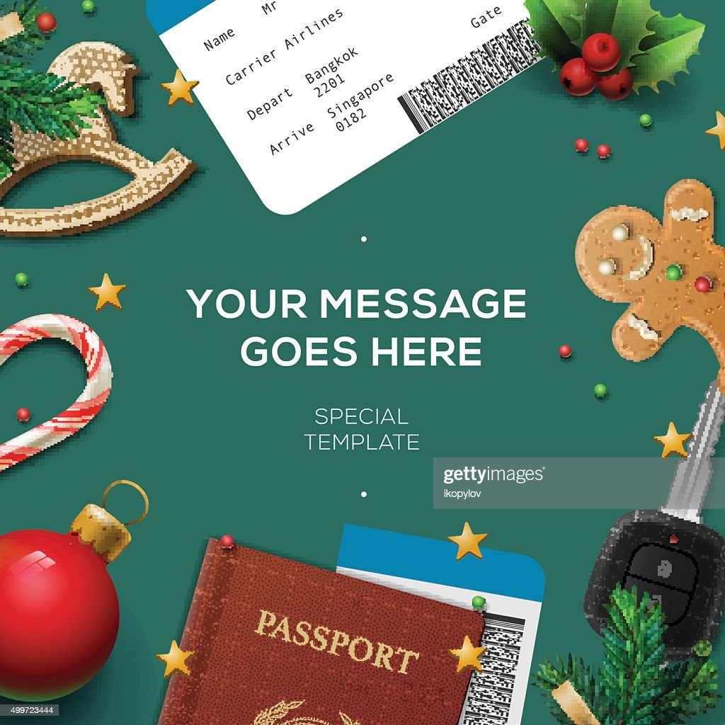Christmas and New Year, winter vacations, holidays