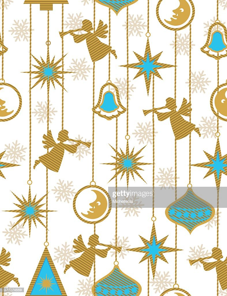 Christmas Angels Vector Art | Getty Images
