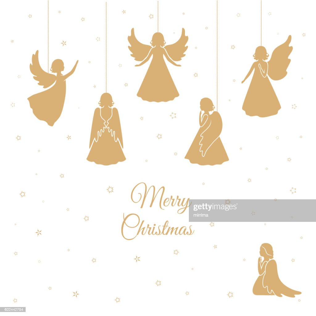 Christmas Angels with wings